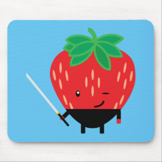 Strawberry-Ninja Mouse Mat
