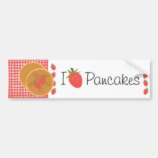 Strawberry Pancakes Bumper Sticker