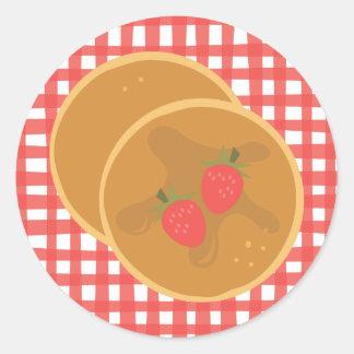 Strawberry Pancakes Sticker