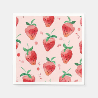 Strawberry Paper Napkin