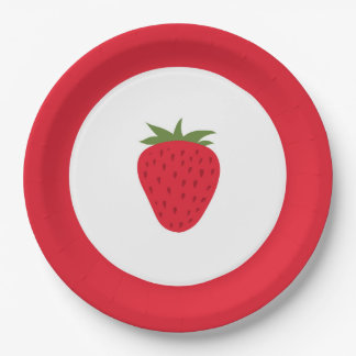 Strawberry Paper Plates