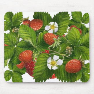 Strawberry Patch Mouse Mat