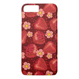 Strawberry Pattern 2 2 iPhone 8 Plus/7 Plus Case