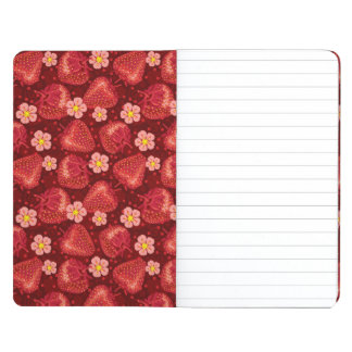 Strawberry Pattern 2 2 Journal