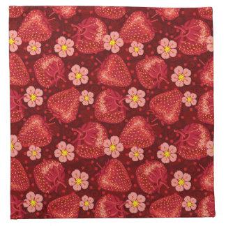 Strawberry Pattern 2 2 Napkin