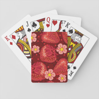 Strawberry Pattern 2 2 Playing Cards