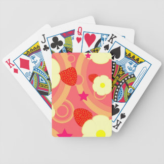 Strawberry Pattern 2 Bicycle Playing Cards