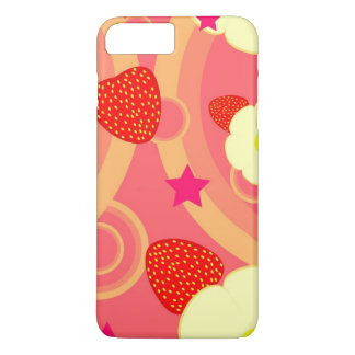 Strawberry Pattern 2 iPhone 8 Plus/7 Plus Case