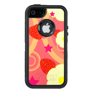 Strawberry Pattern 2 OtterBox Defender iPhone Case