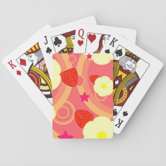 Strawberry Pattern 2 Playing Cards