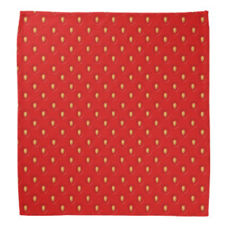 Strawberry Pattern Head Kerchiefs