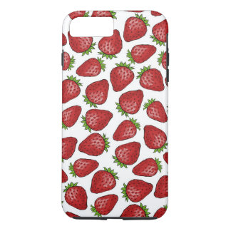 Strawberry pattern iPhone 8 plus/7 plus case