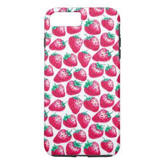 Strawberry pattern iPhone 8 plus/7 plus case