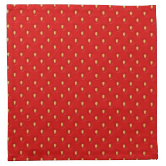 Strawberry Pattern Napkin