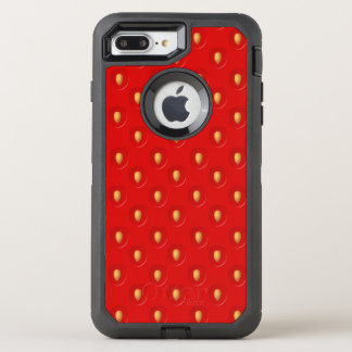 Strawberry Pattern OtterBox Defender iPhone 8 Plus/7 Plus Case