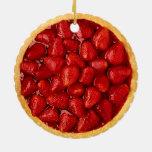 Strawberry Pie Christmas Ornaments
