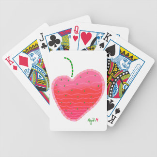 Strawberry playing cards