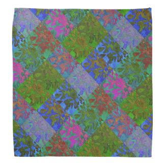 Strawberry Pop Art Pattern Bandana