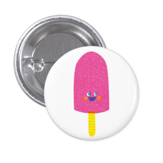 Strawberry Popsicle Badge