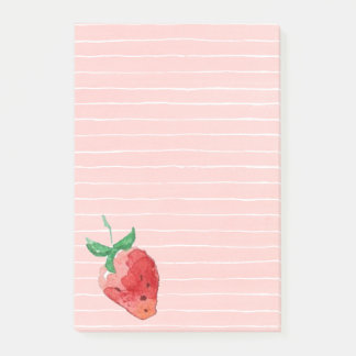 Strawberry Post-it Notes