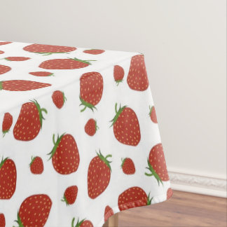 Strawberry Print Tablecloth