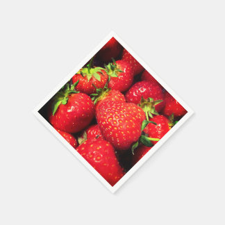 Strawberry printed Napkins Disposable Napkin
