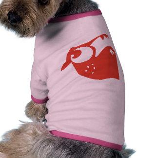 Strawberry pug pet t-shirt
