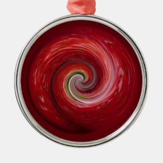 Strawberry Ripple Christmas Ornament