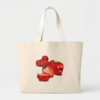 Strawberry Shock Tote Bags