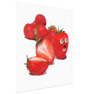 Strawberry Shock Canvas Prints