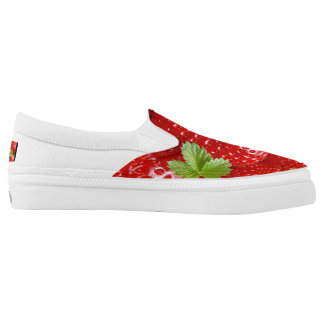 Strawberry Shoes for Springtime and Summer! Printed Shoes