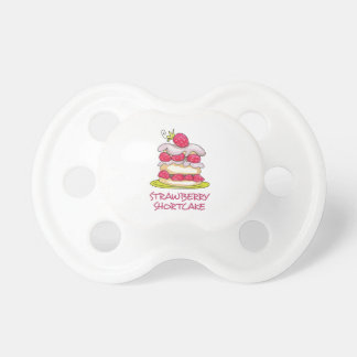 Strawberry Short Cake Baby Pacifiers