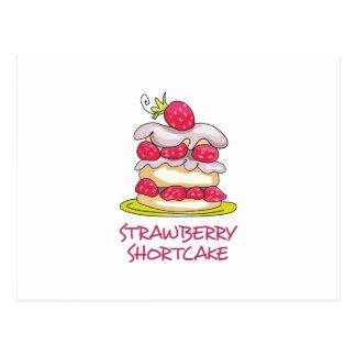 Strawberry Short Cake Postcard