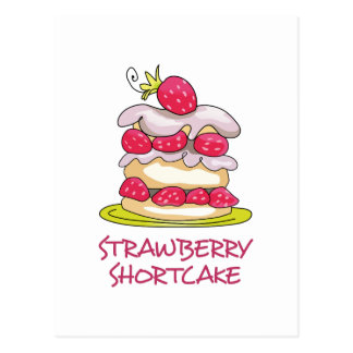 Strawberry Short Cake Postcard