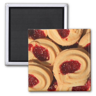 Strawberry Shortbread Cookies Magnet