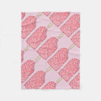 Strawberry Shortcake Ice Cream Popsicle Blanket
