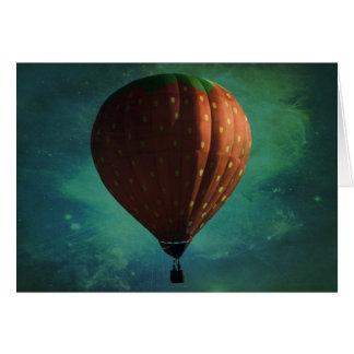Strawberry Skies Greeting Card