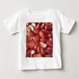 Strawberry Slices, Healthy Food Snack, Red Fruit T-shirts