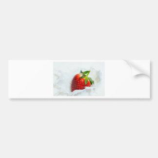 Strawberry Splash Bumper Sticker