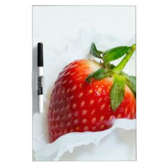 Strawberry Splash Dry Erase Board