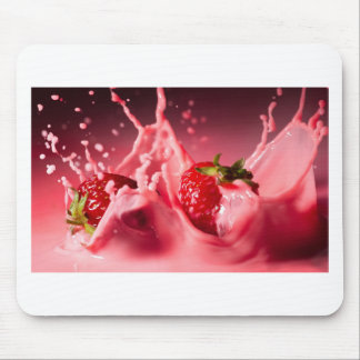 Strawberry Splash Mouse Pad