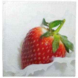 Strawberry Splash Napkin