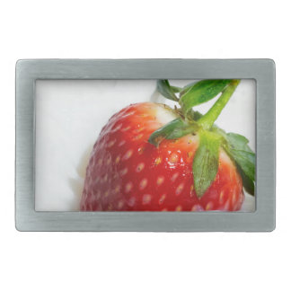Strawberry Splash Rectangular Belt Buckle