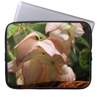 Strawberry Splash Taffet Plant Laptop Sleeve
