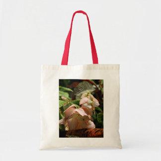 Strawberry Splash Taffet Plant Tote Canvas Bag