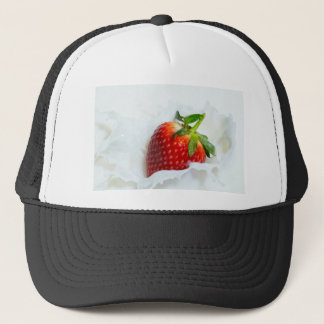 Strawberry Splash Trucker Hat
