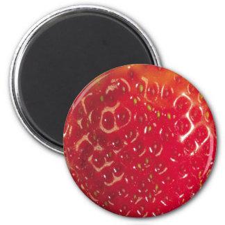 Strawberry Standard, 2¼ Inch Round Magnet
