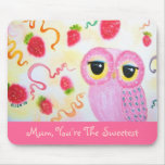 Strawberry Strawberry Mother's Day Mouse Pad
