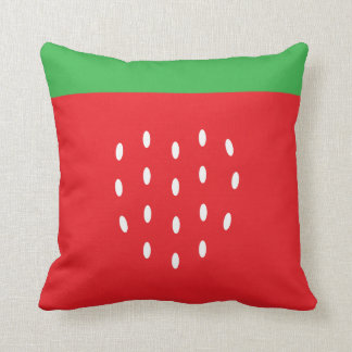 Strawberry Summer Fun Throw Pillow