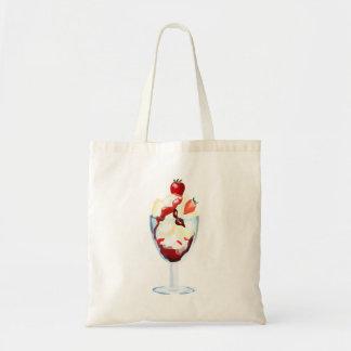 Strawberry Sundae Tote Bag